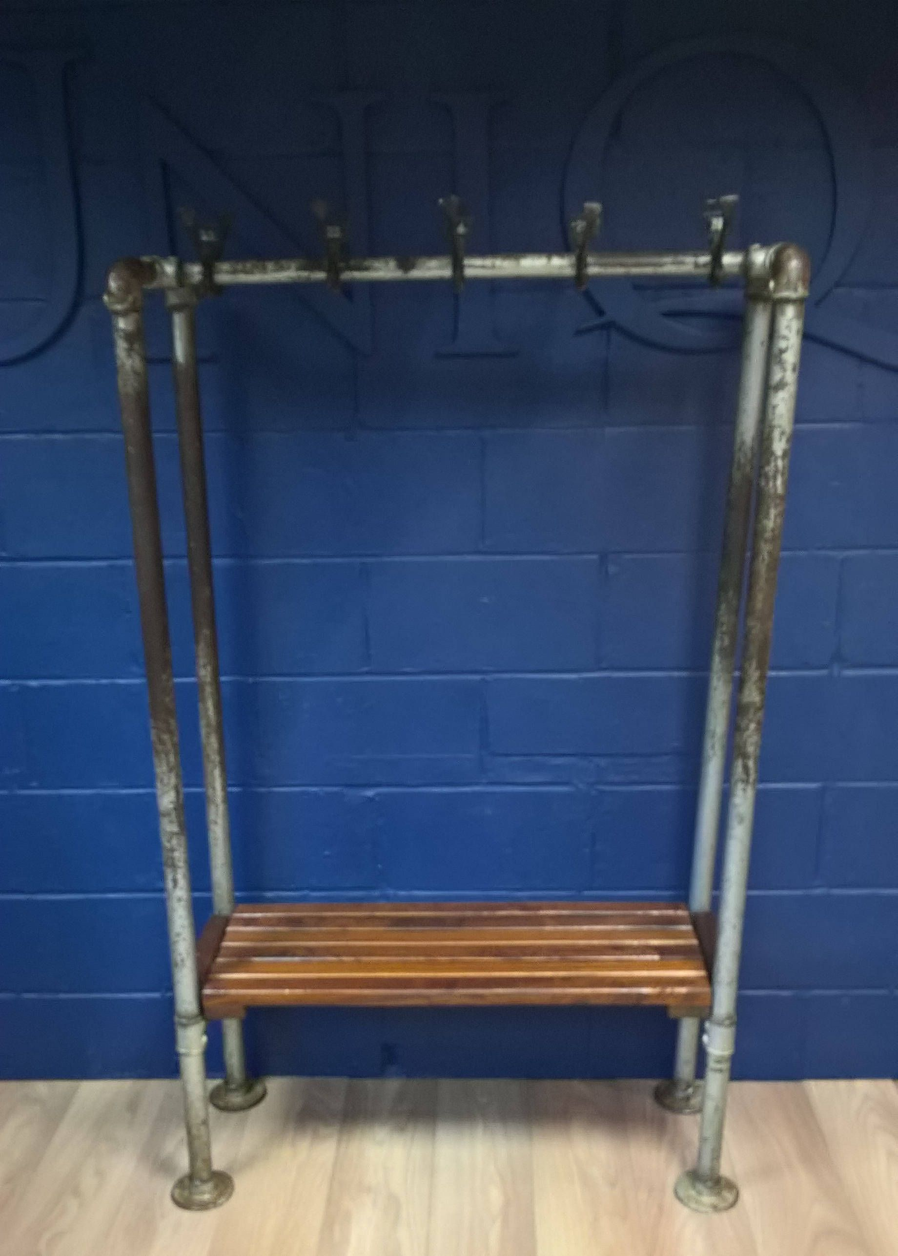 1950s hallway ideas  Industrial Look Hall Stand  Hall stand