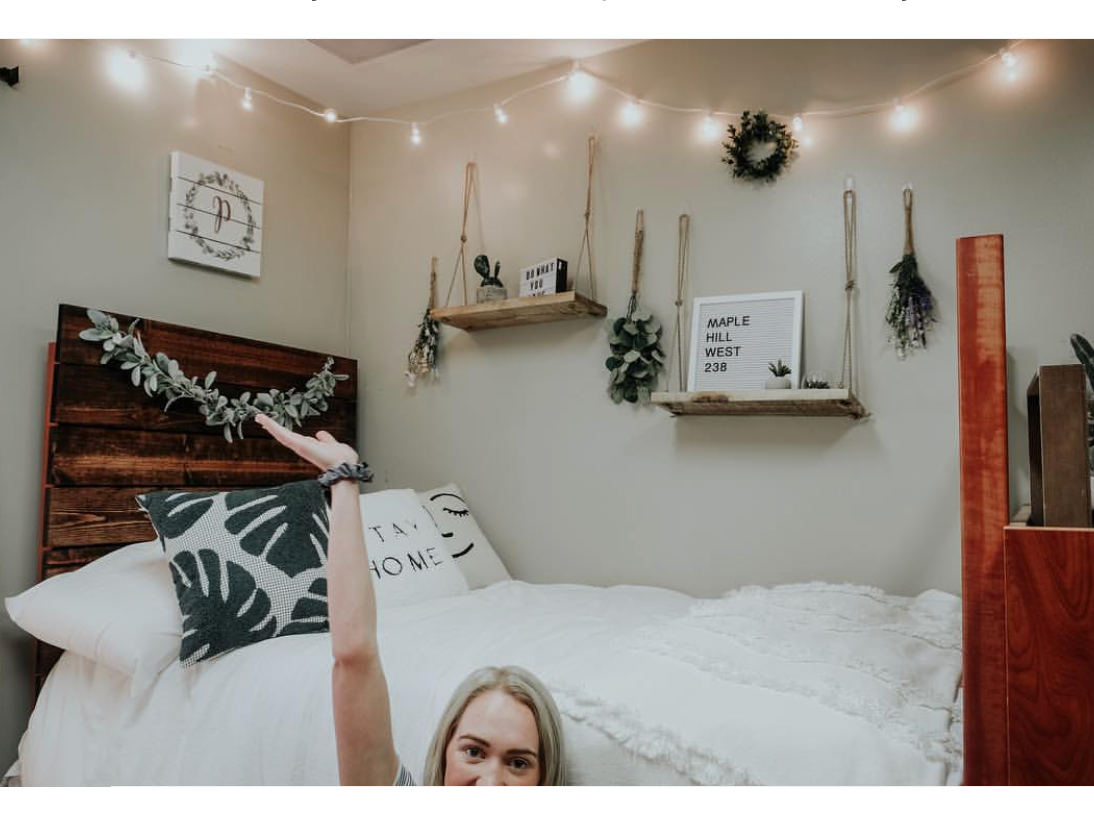 See Paige Drummond's Gorgeous College Dorm Room images