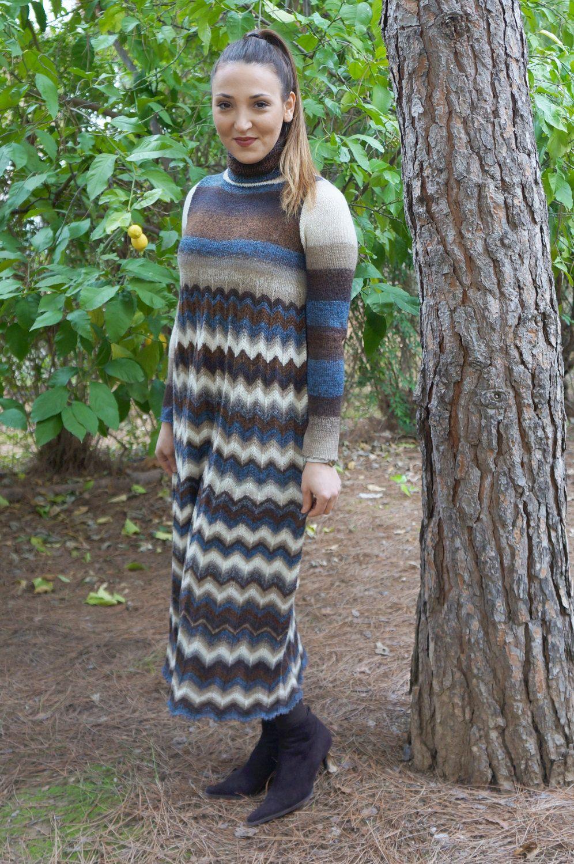 Fine Knitted Dress Patterns Images - Decke Stricken Muster ...