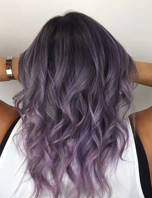 20 Lovely Lavender Ombre Hair Color Ideas Lavender Hair Ombre Hair Color Pastel Ombre Hair Color