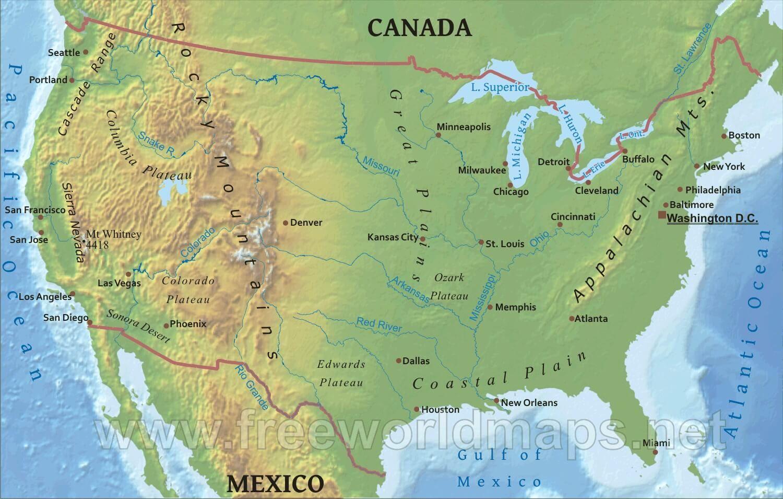 Unitedstates Map 955