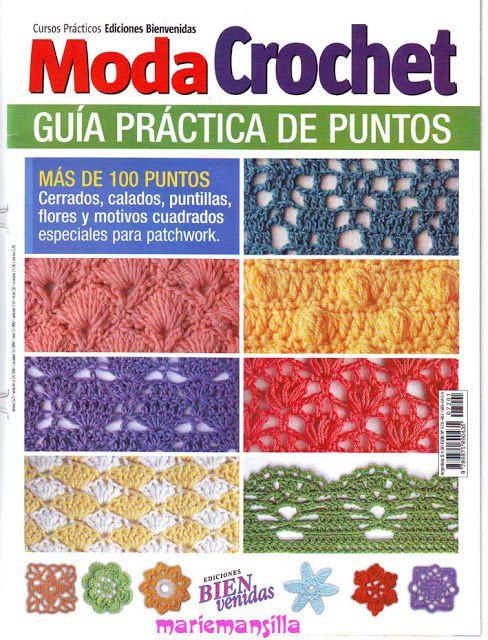 MODA CROCHET GUIA PRACTICA DE PUNTOS - josefa torres - Picasa-Webalben