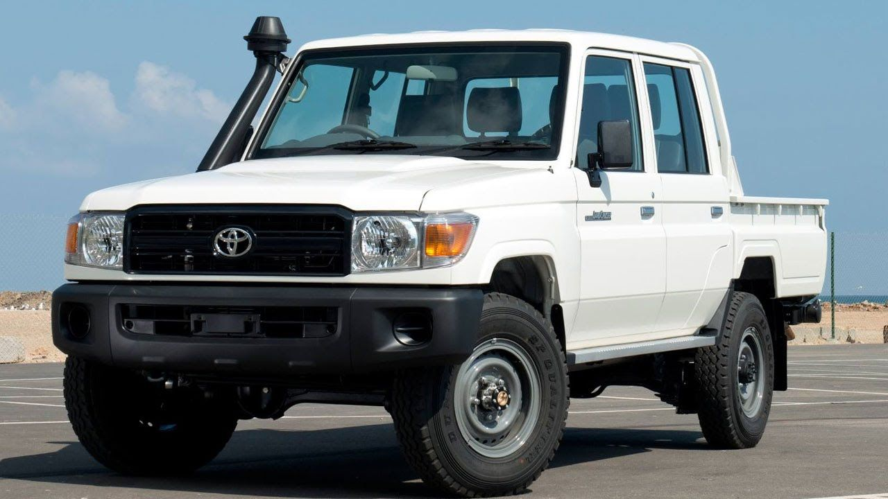 Toyota land cruiser 79 double cabin 4 2l diesel 6 seater lhd