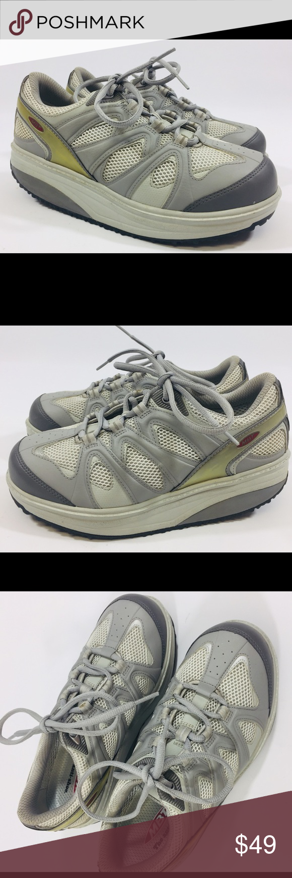 MBT Anti shoe Rocket Bottom Walking Shoes Sz 8 MBT The Anti Shoe Women s  size 8 Rocker Bottom Walking Shoes Never Worn Minor crack to vinyl on one  side 42e30e513d6d
