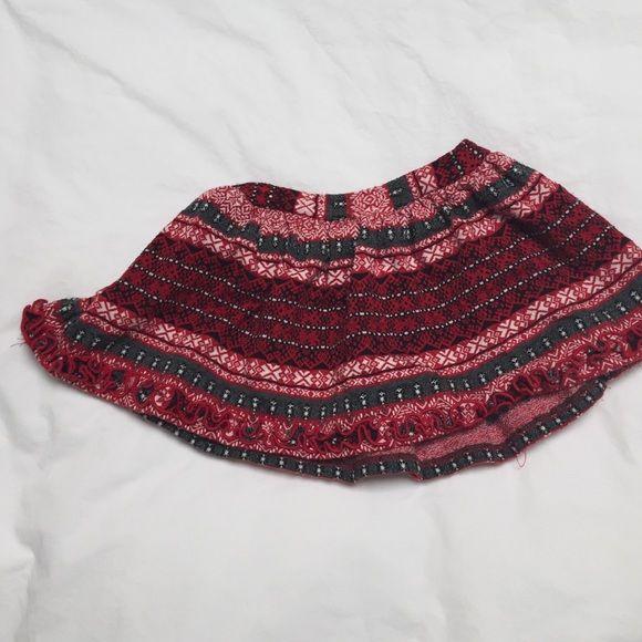 Kids love you lots skirt Winter like print jersey skirt Love you lots Skirts