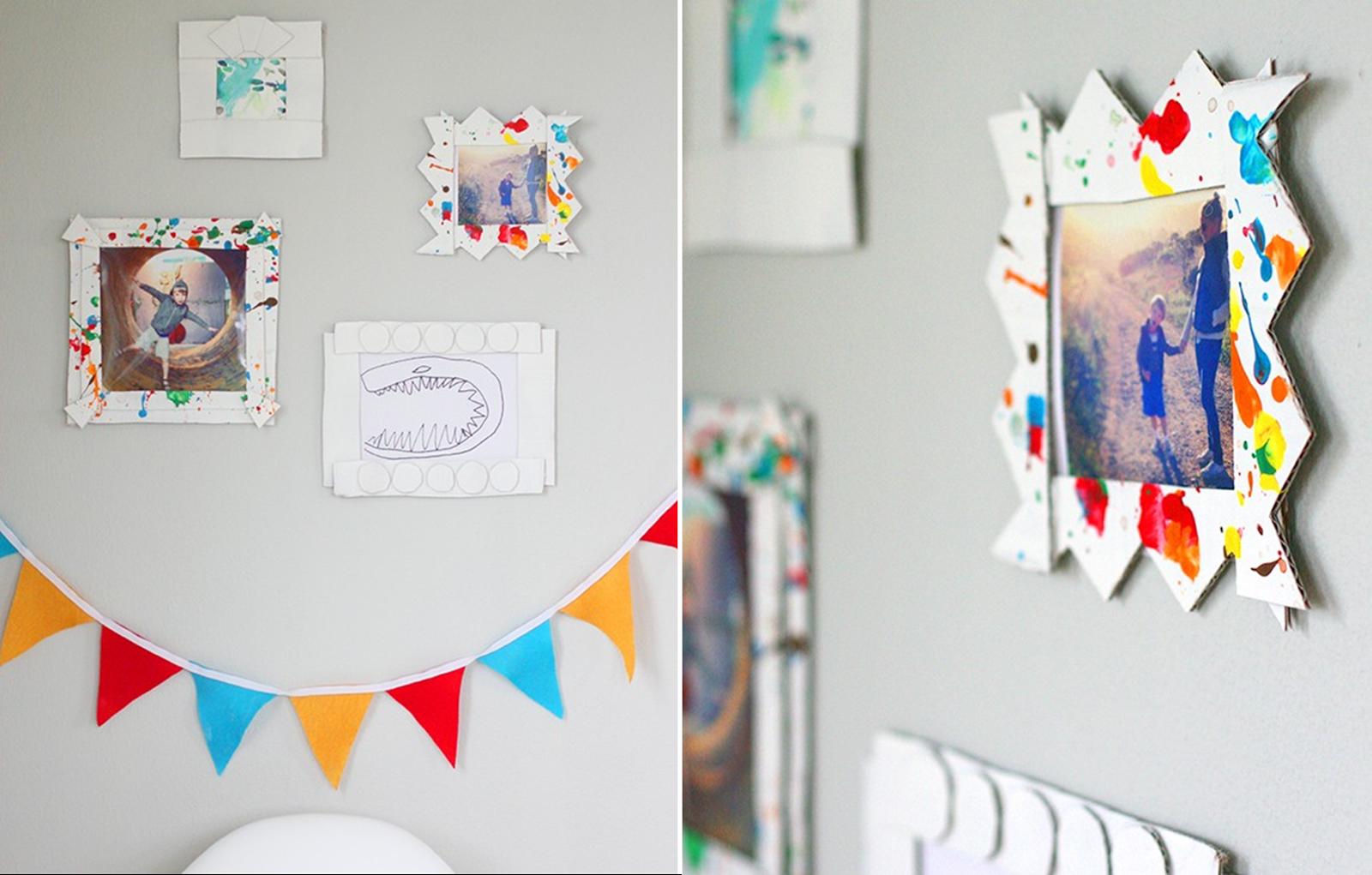 Decoraci N F Cil Cuadros Reciclando Carton Ideas Pinterest