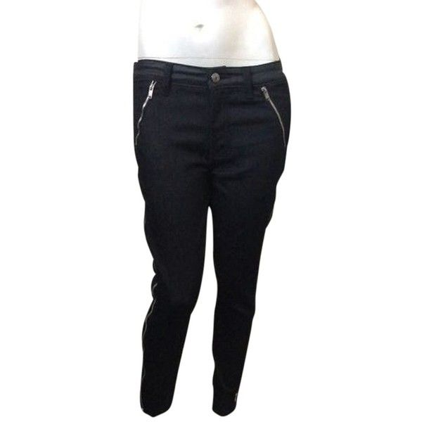 Pre-owned 7 For All Mankind Skinny Jeans (175 AUD) ❤ liked on Polyvore