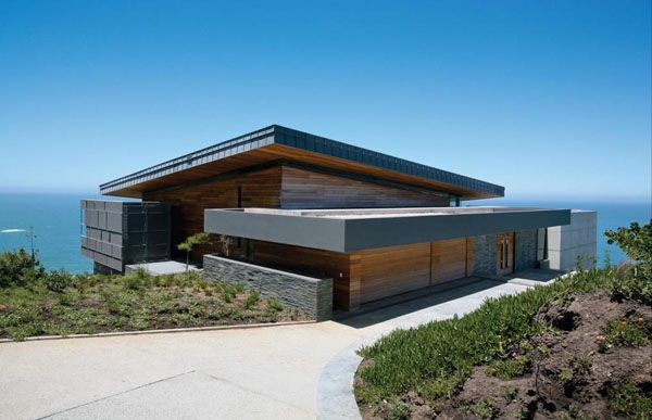 Striking Clifftop Home In The Cove At Pezula Estate Architecture