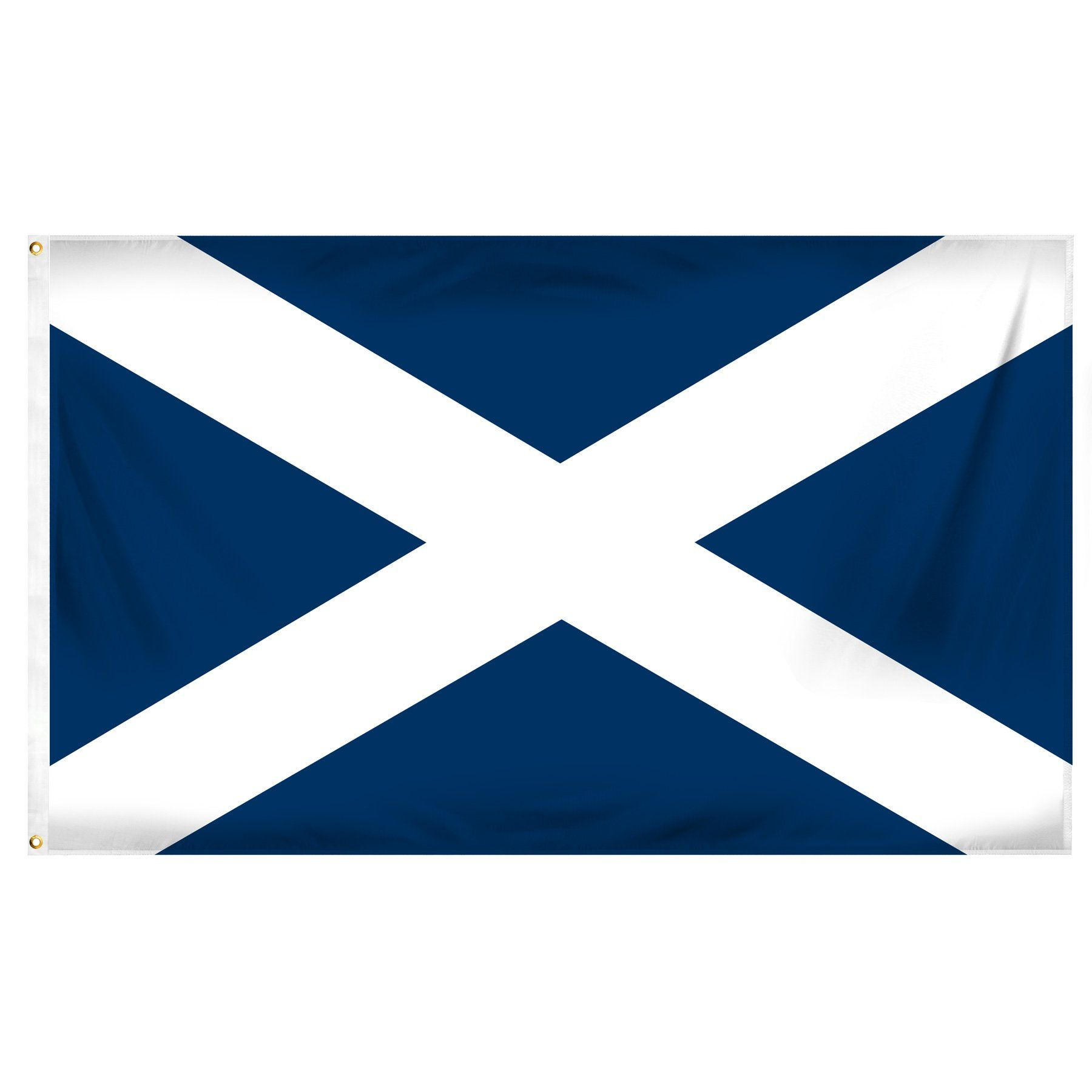 Online Stores Scotland St Andrews Cross Printed Polyester Flag 3 By 5 Feet Flag Prints Cross Flag