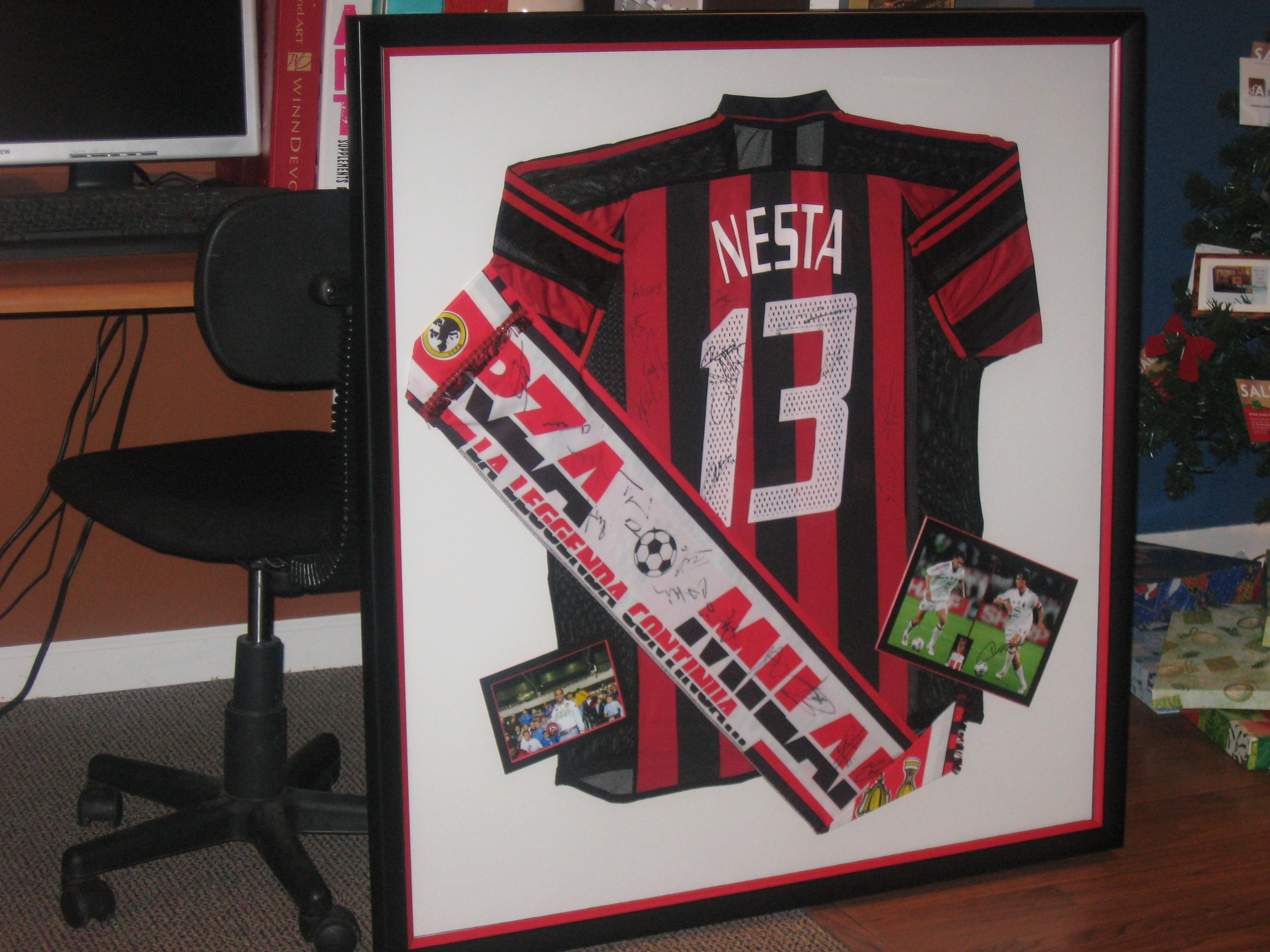 Frame that special jersey with all the memories attatched