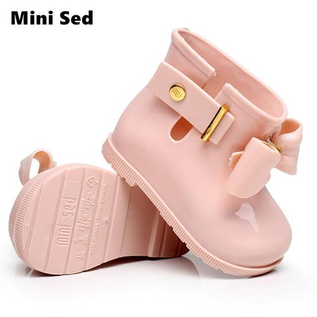boots, Girls rain boots, Baby jelly shoes