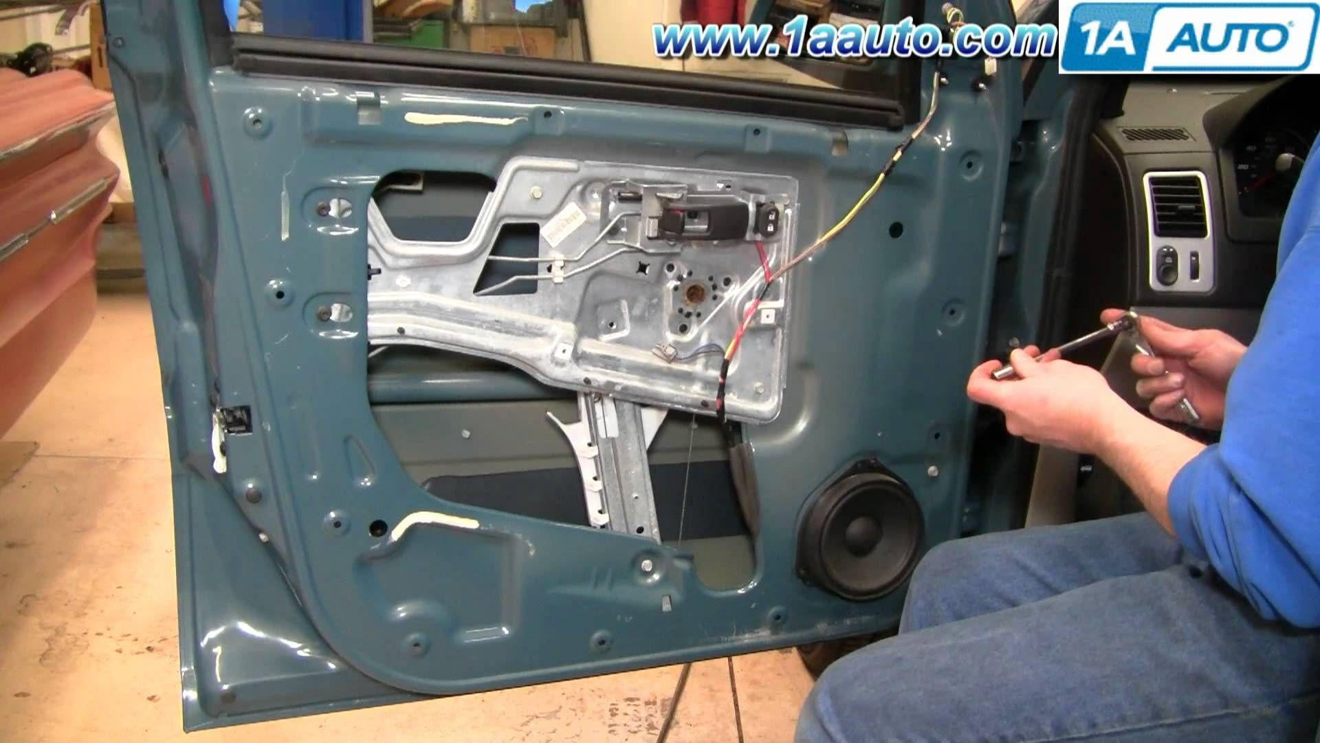 How To Install Replace Power Window Regulator Chevy Equinox 05