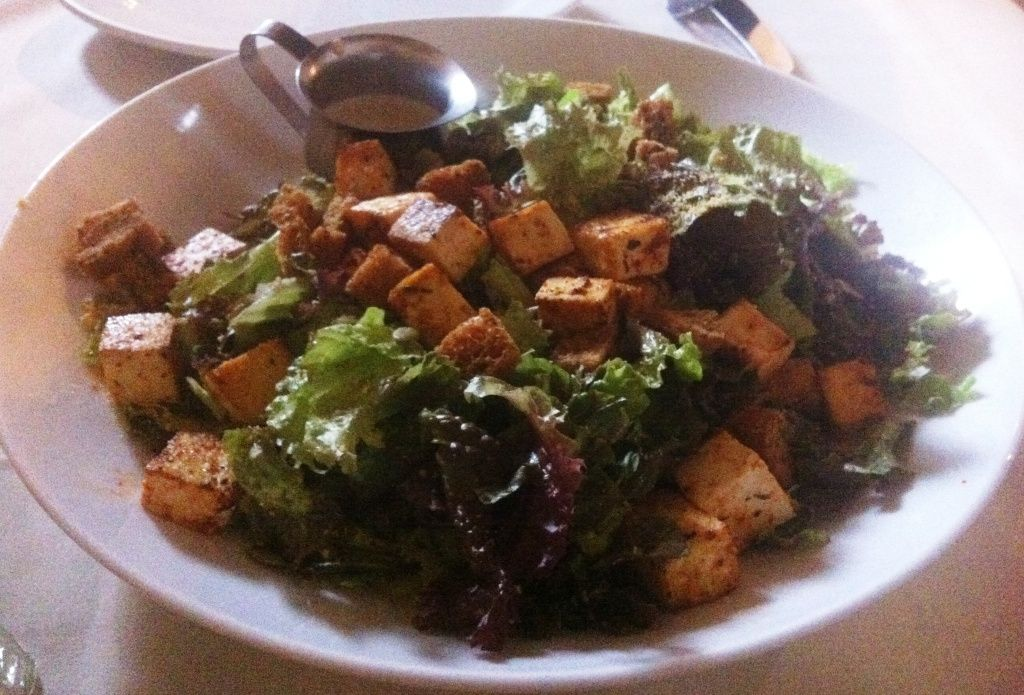 CA Vegan Caesar Salad