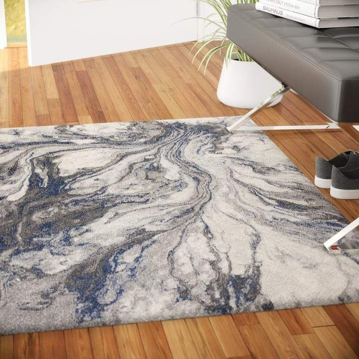 Wade Logan Kaia Gray Watercolors Area Rug In 2019 Area Rugs