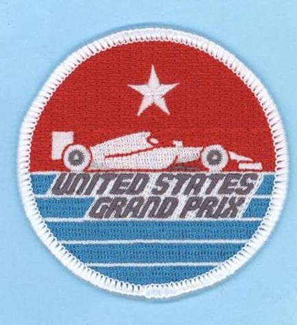 United States Grand Prix Embroidered Patch