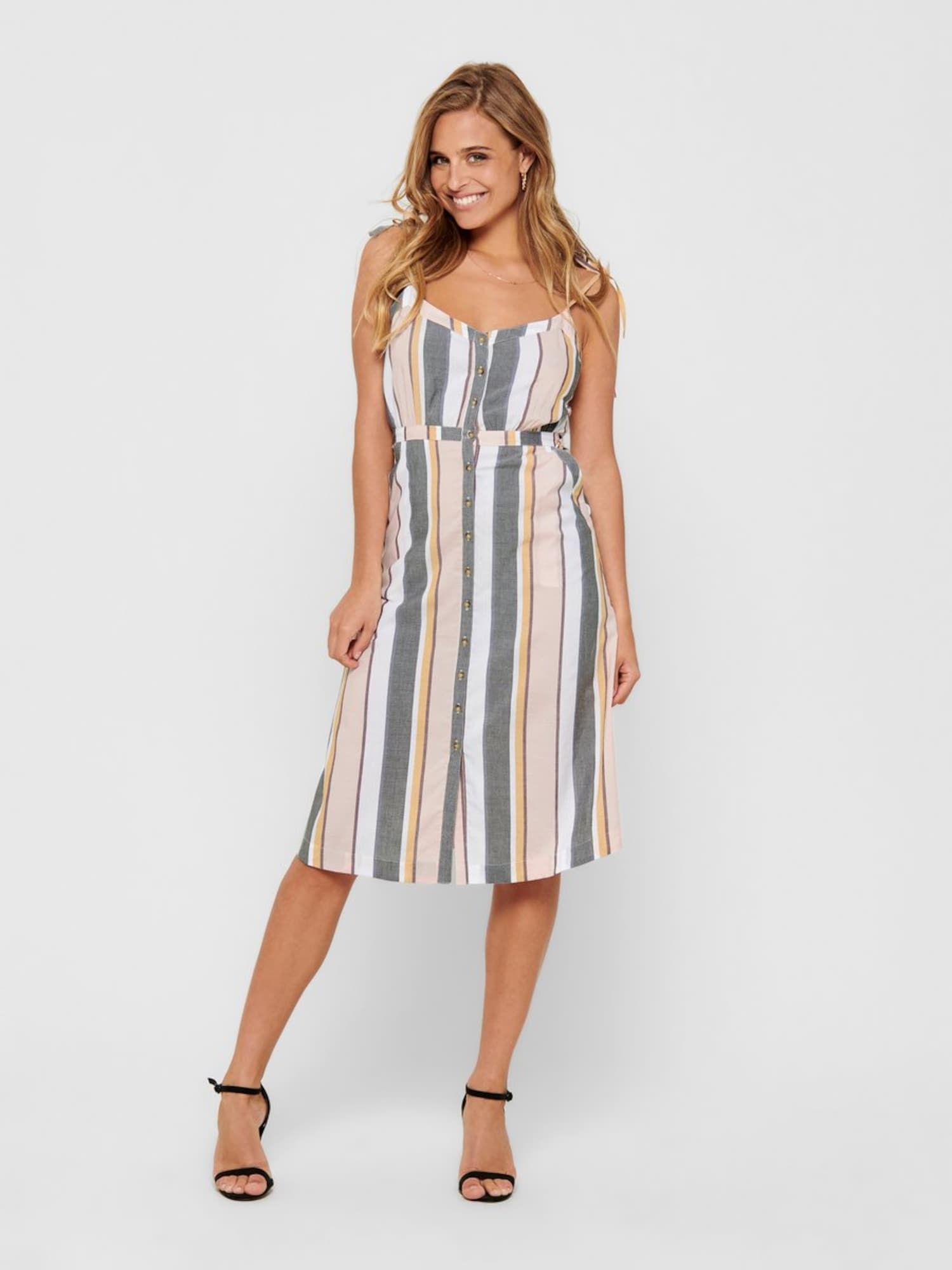 ONLY Kleid Damen, bunt, Größe 14  Kleider, Only kleid, Kleidung