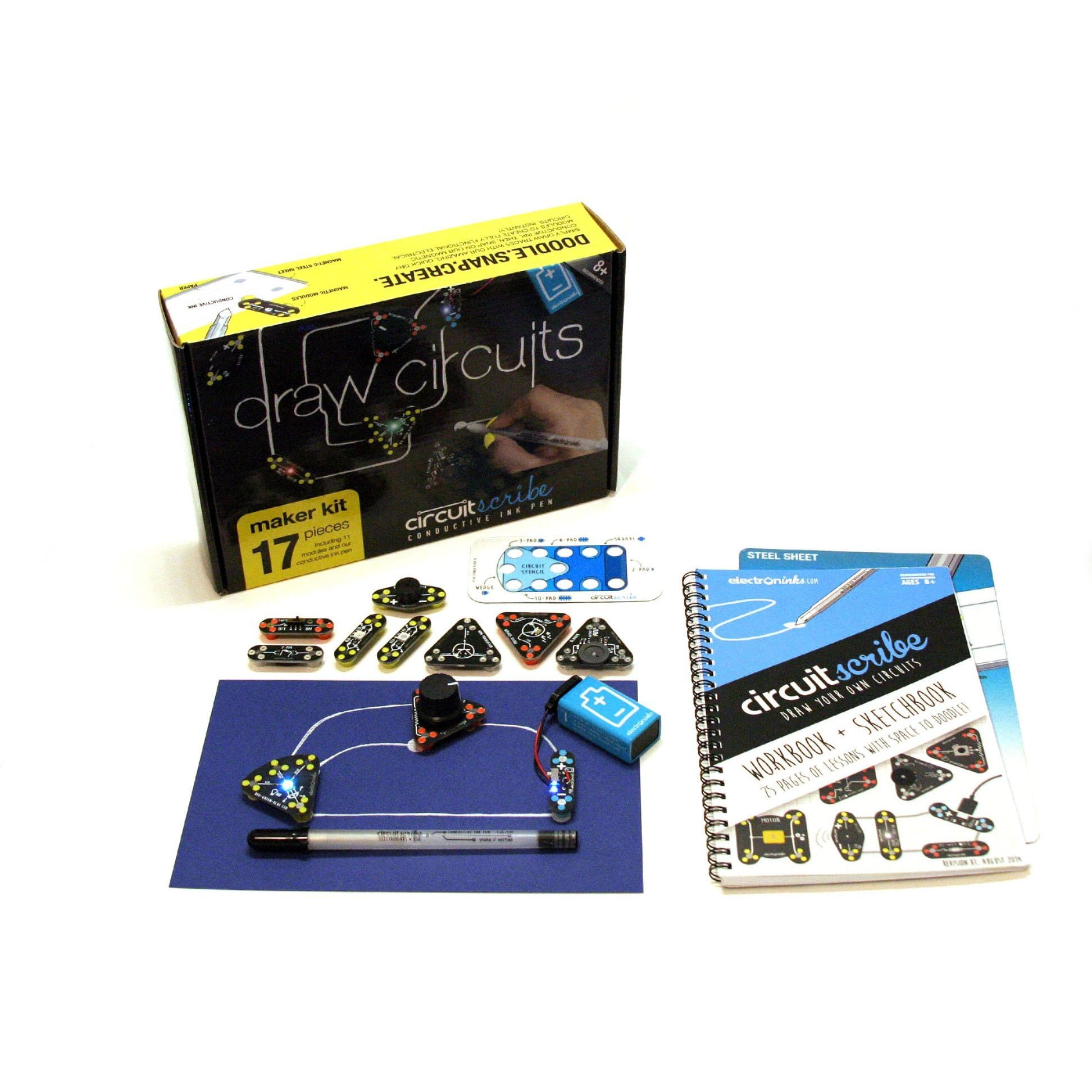 Circuit Draw Circuits Instantly Scribe Maker Kit Products Amazoncom Snap Sc300 Electronics Discovery Toys