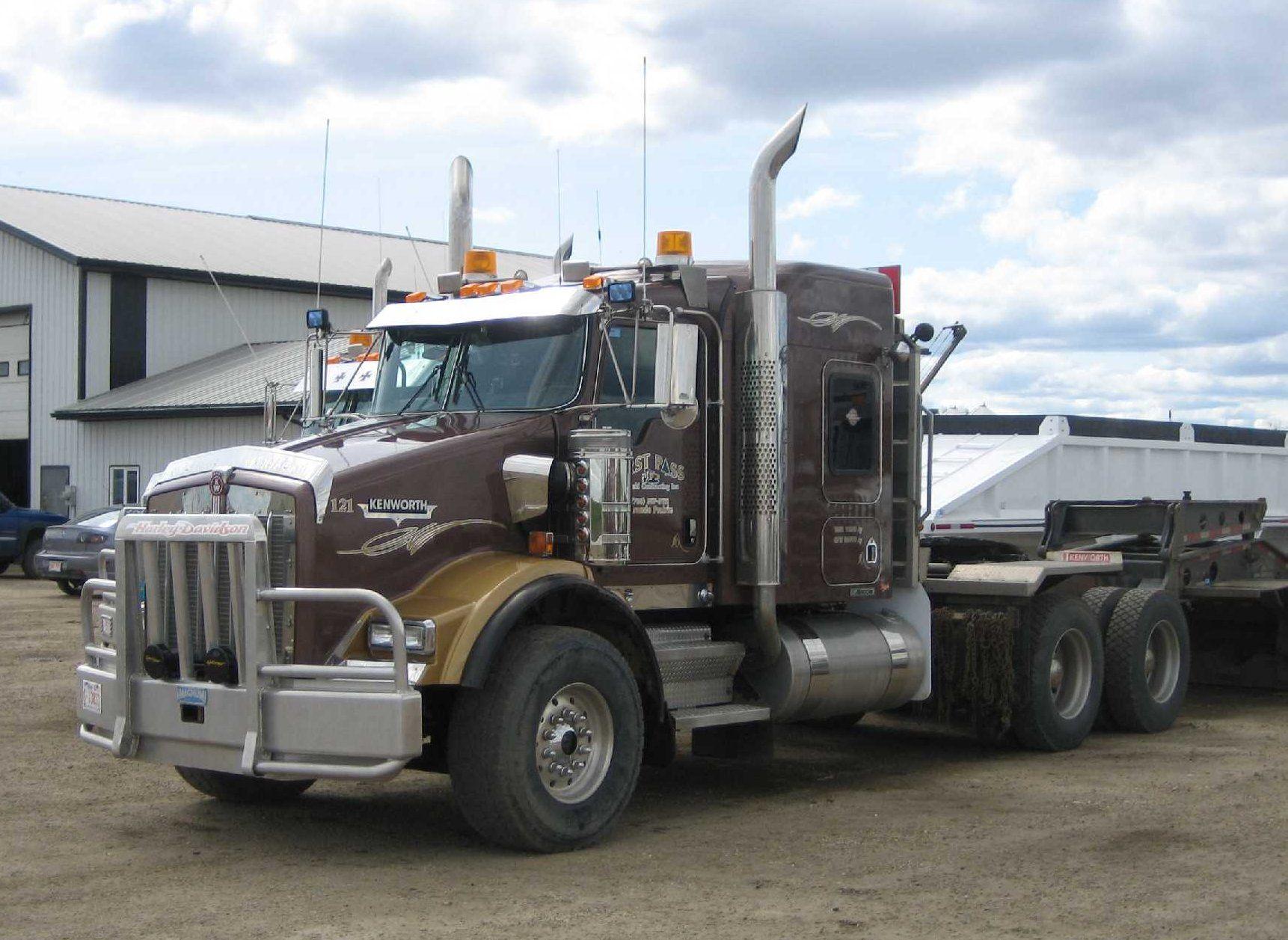 kenworth t800 kenworth trucks road king heavy equipment semi trucks rigs  [ 1722 x 1257 Pixel ]