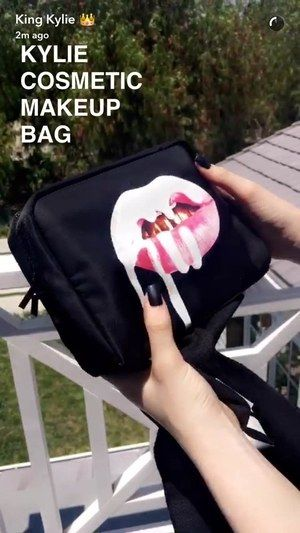 Kylie S Birthday Collection Makeup Bag Simmidelrey Kylie