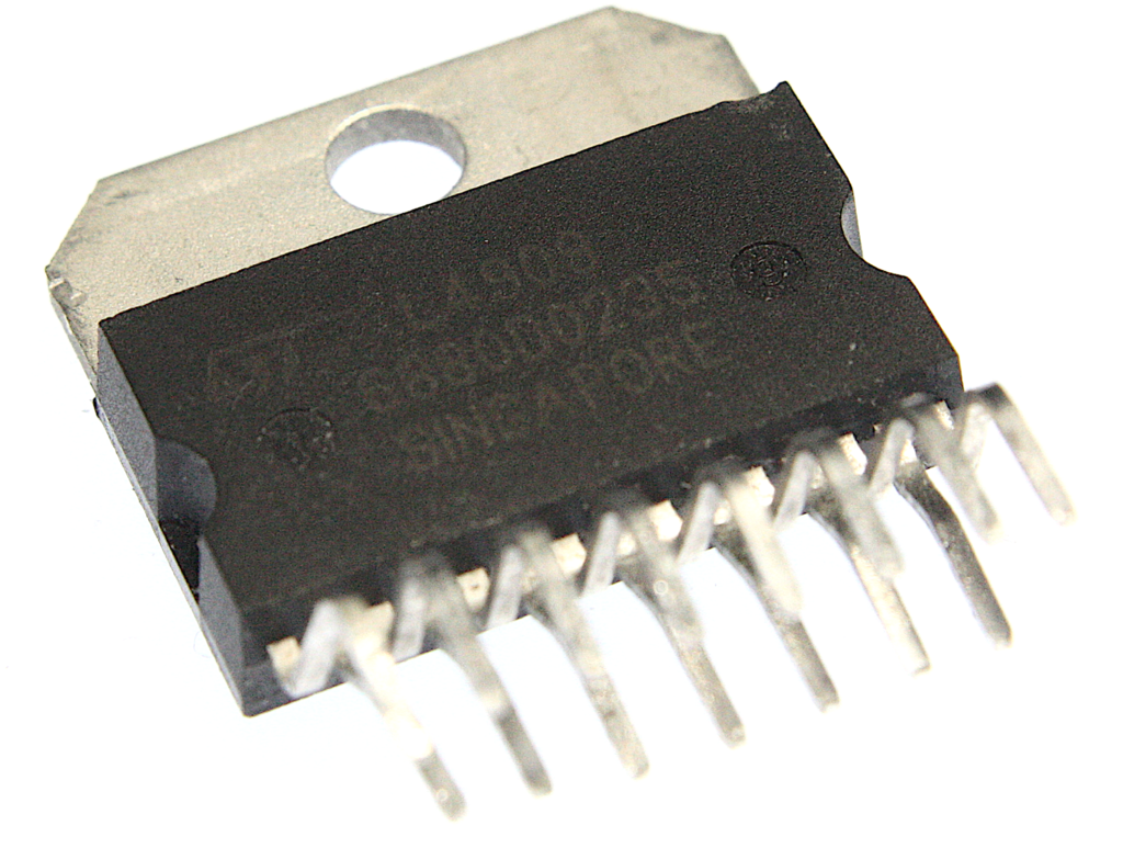 St Electronics L4909 Integrated Circuit Electronic Projects Free Circuits Dc Uk