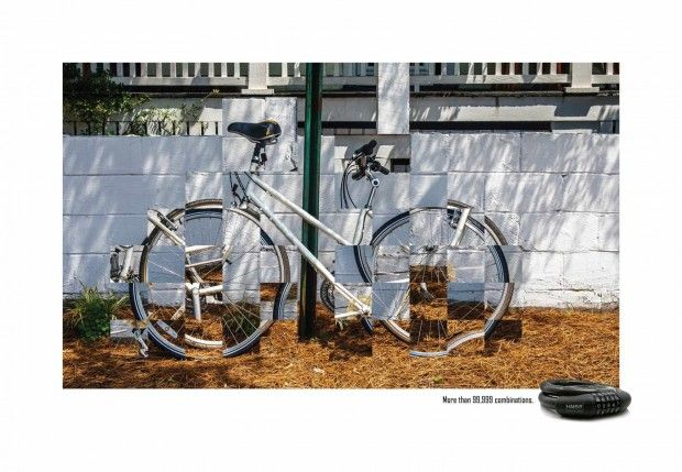 HMBR Bicycle Lock: The bike