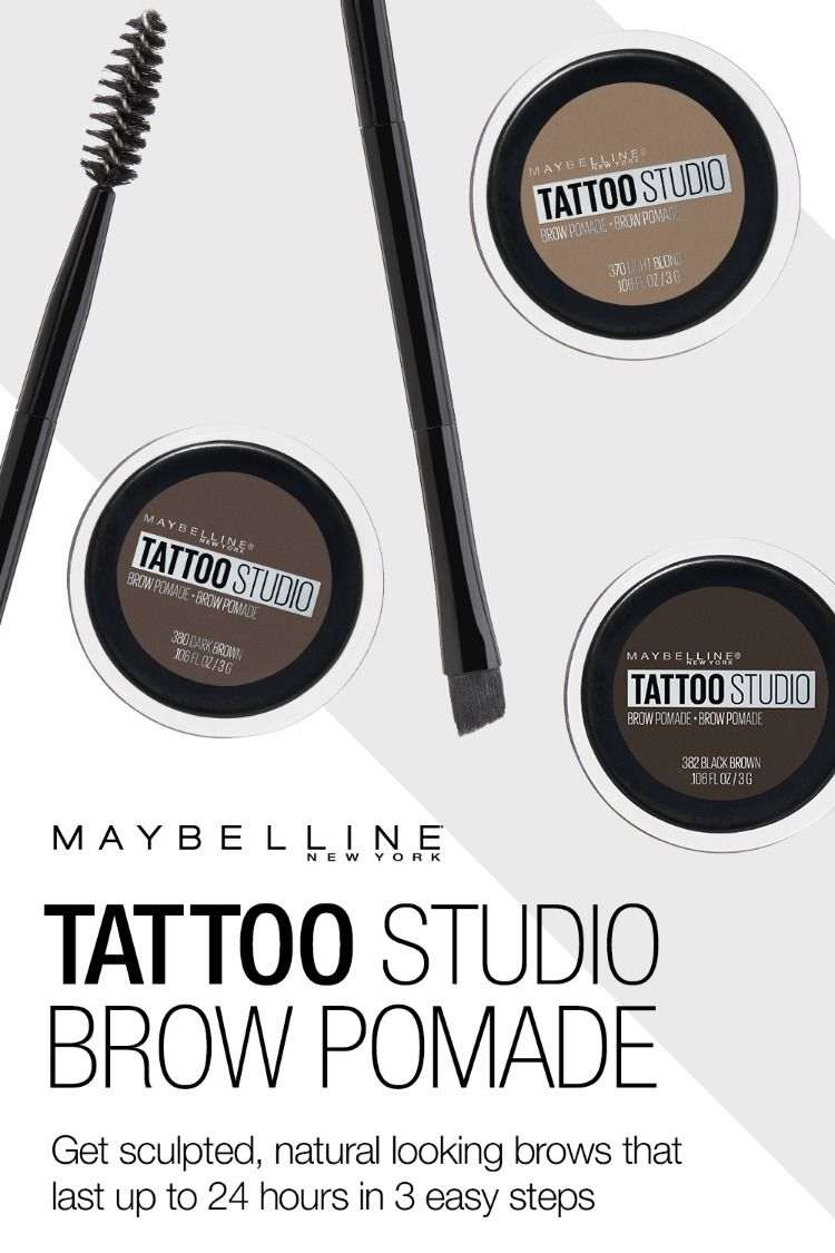 Tattoo Studio Brow Pomade Brow Pomade Maybelline Eyebrow Makeup