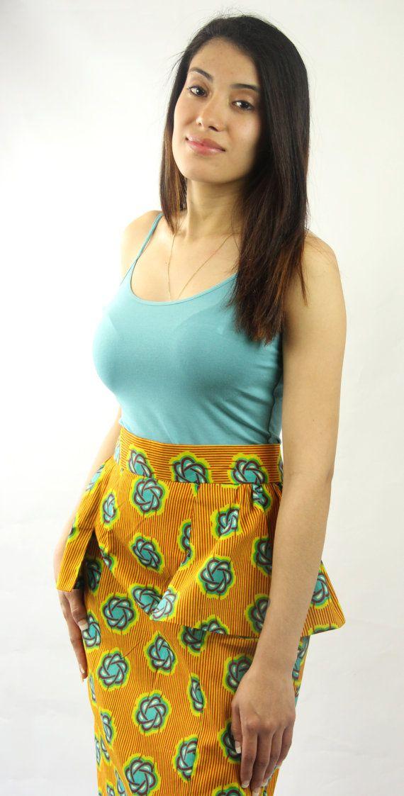 Modern Peplum Skirt