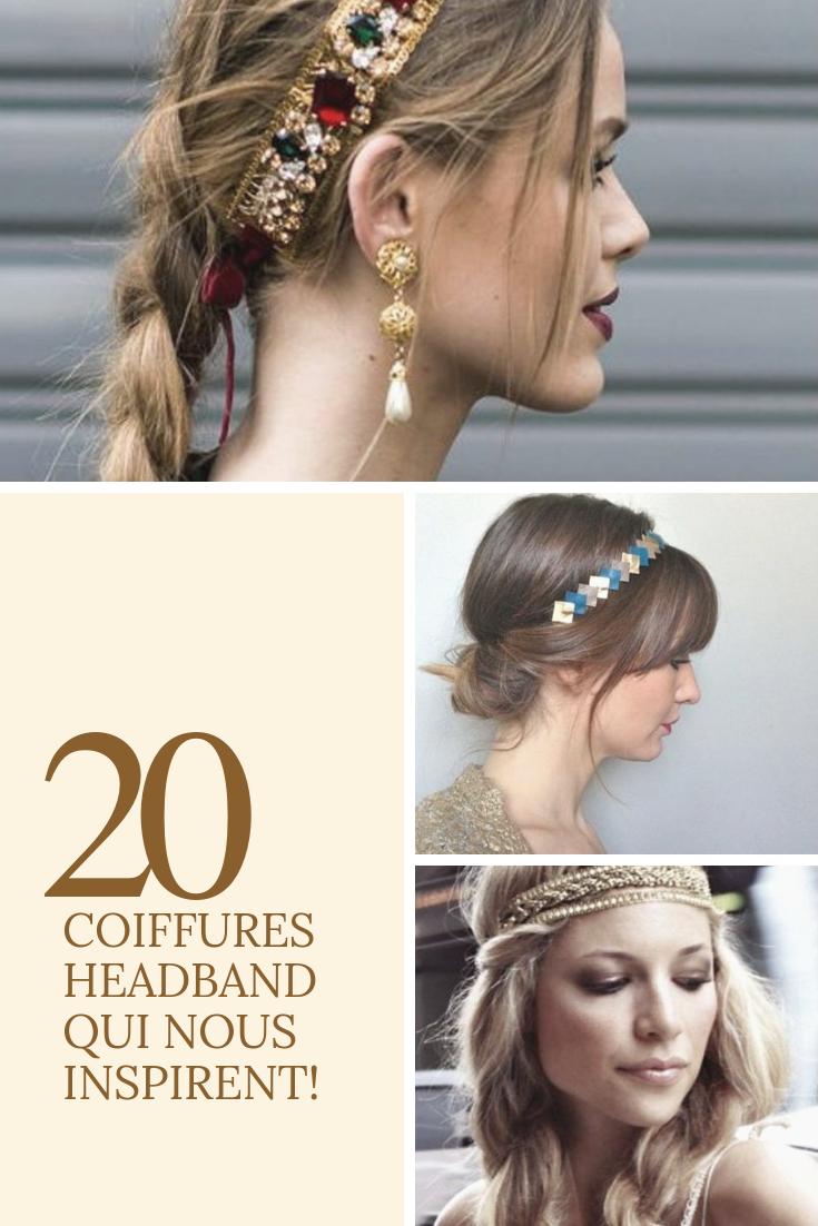 Coiffure headband : 20 coiffures avec un headband à piquer | Coiffure avec headband, Coiffure ...