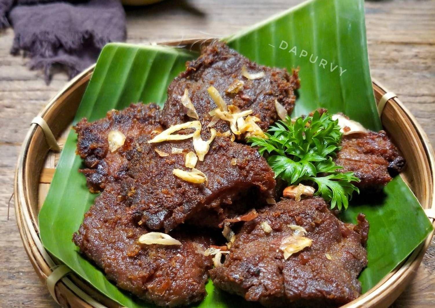Resep Empal Gepuk Daging Sapi Oleh Dapurvy Resep Resep Masakan Resep Masakan