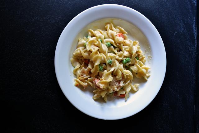 Healthy Chicken Noodle Casserole