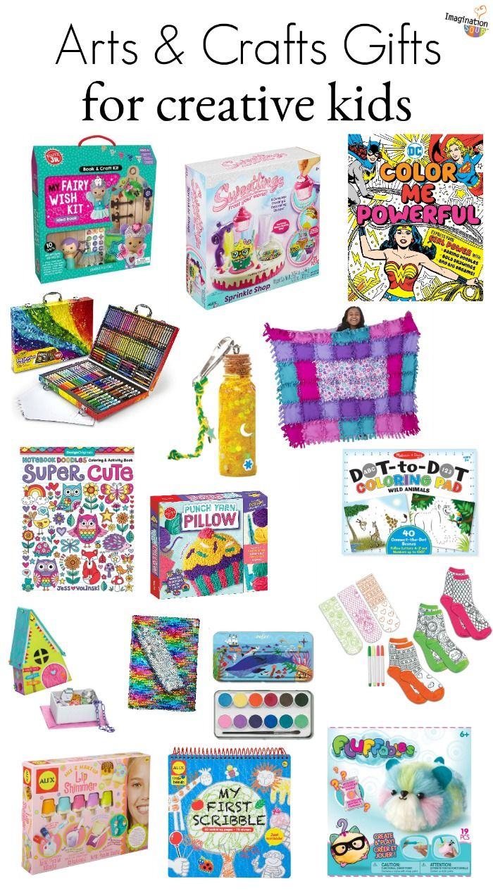 2019 Best Arts And Crafts Gifts For Creative Kids Craft Gifts