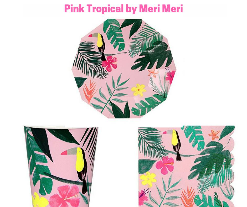 20 Napkins 33er Motif Flamingo Deco Holiday Summer Sun Party Cup Island