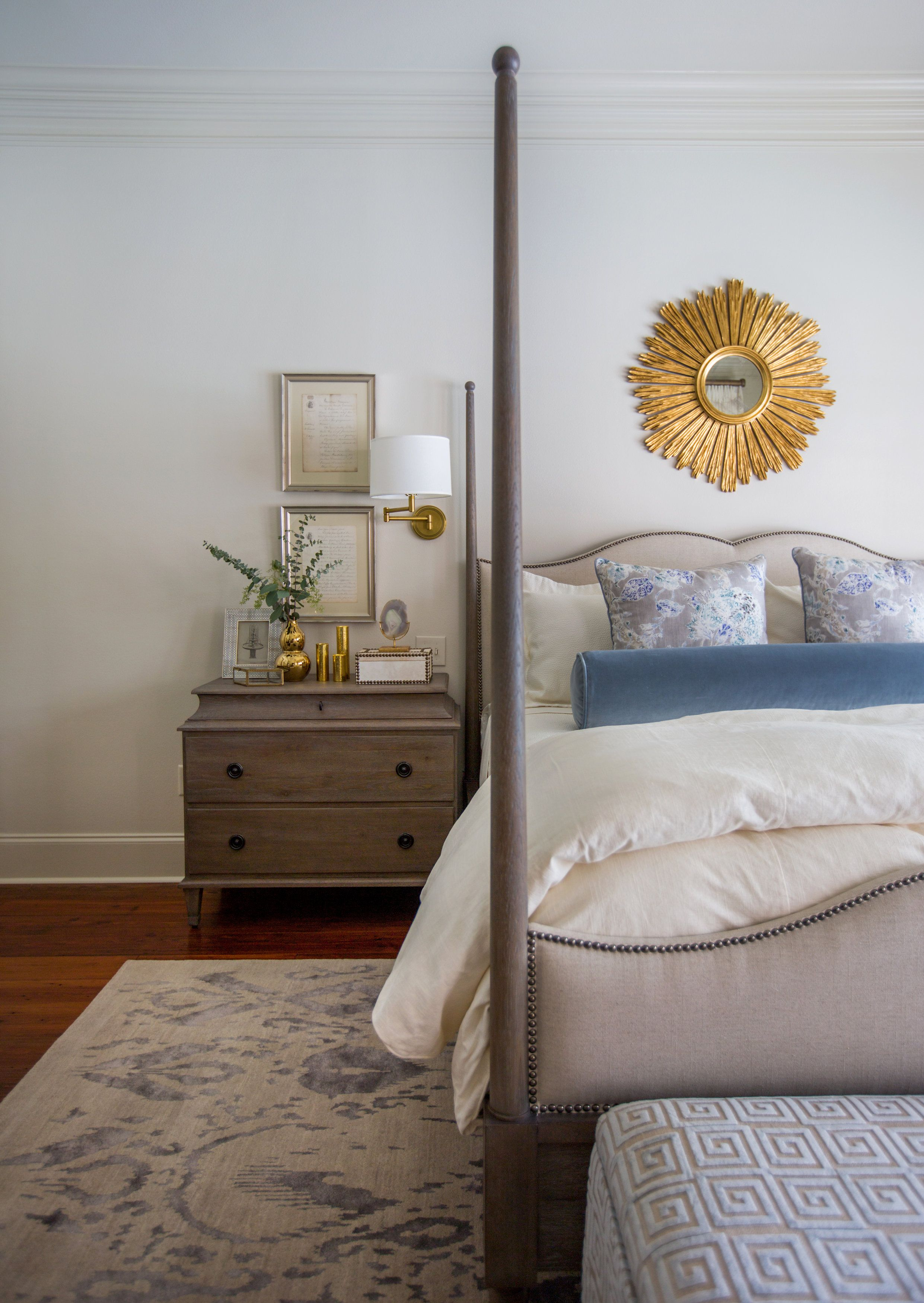 Rachel Cannon Limited Interiors Cool Blues Create A Restful