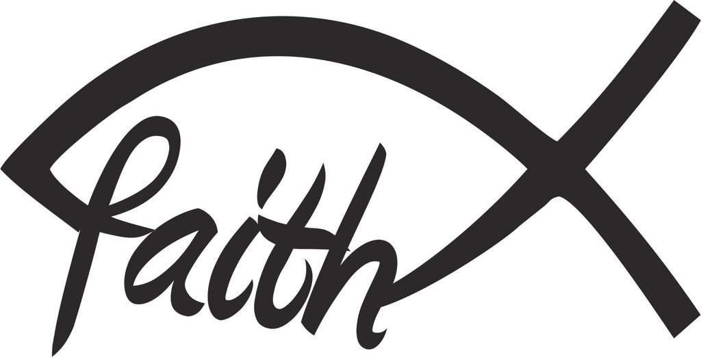 Christian Faith Fish Vinyl Decal Cricut And Cricut Ideas - Custom vinyl decals near me