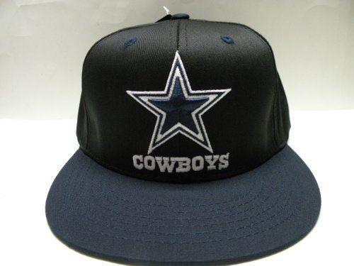 c0d2d7298 NFL Dallas Cowboys Black Navy 2 Tone Retro Snapback Cap by Reebok.  19.99.  Size
