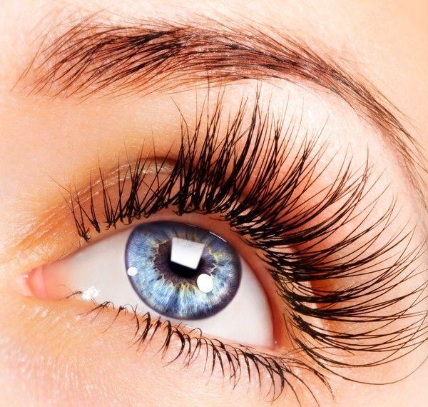 What Makes Healthy Eyelashes Grow Long Healthy Eyelashes Beauty