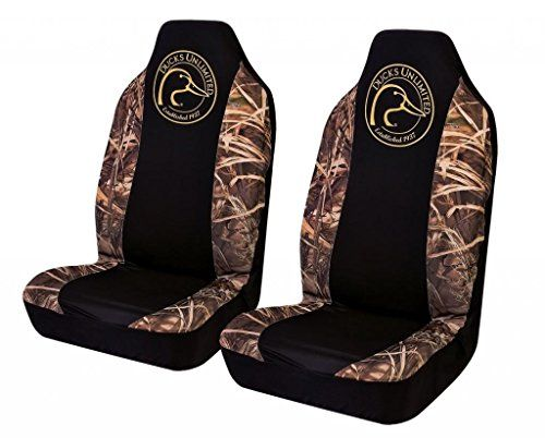 Ducks Unlimited Seat Covers >> Ducks Unlimited Camo Spandex Seat Cover Realtree Max 4