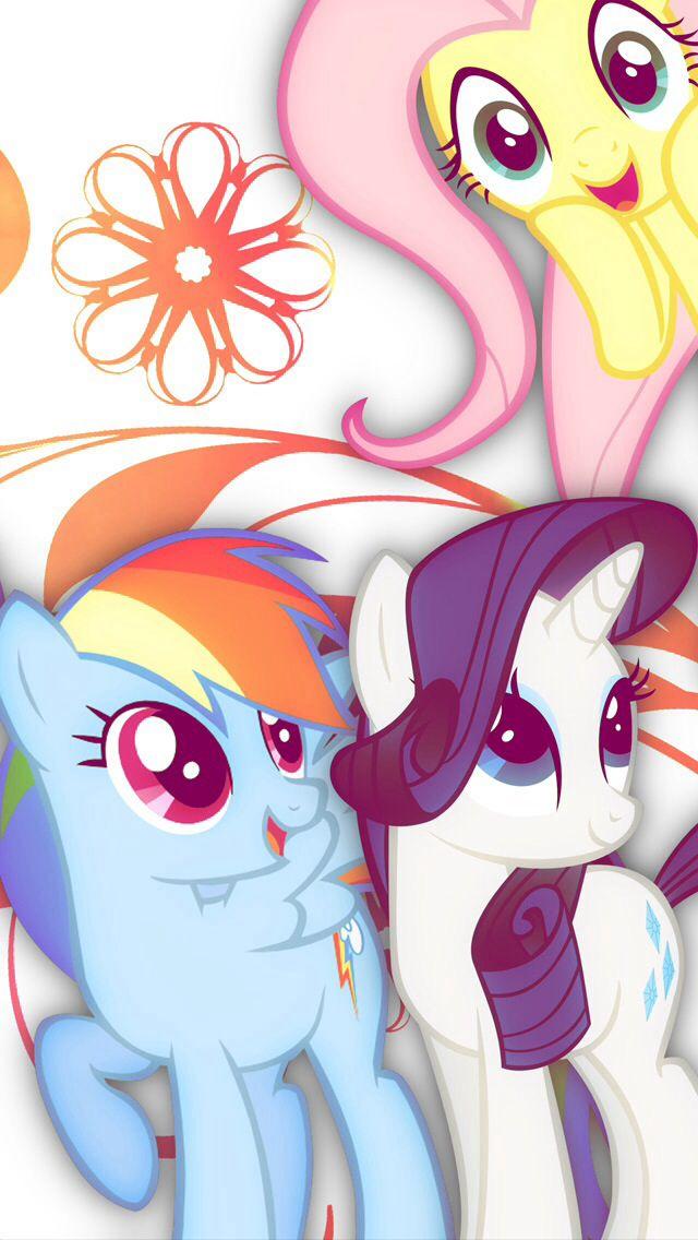 my little pony wallpaper backgrounds pinterest