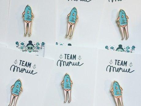 Pin's Team Morue