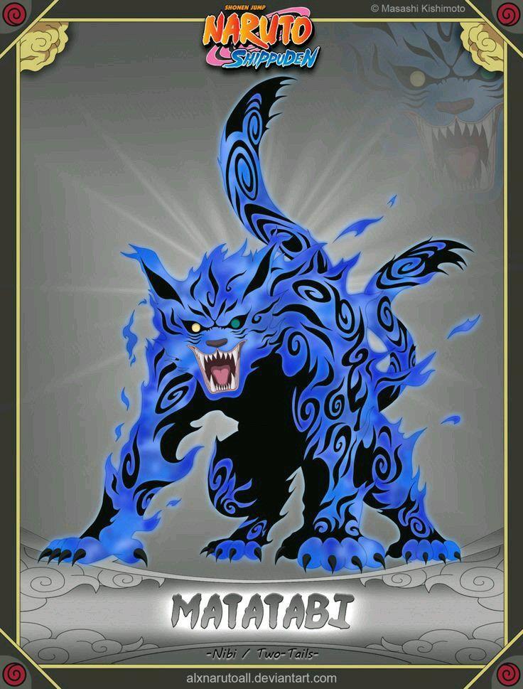 Matatabi 2 colas Personajes de naruto Naruto anime y