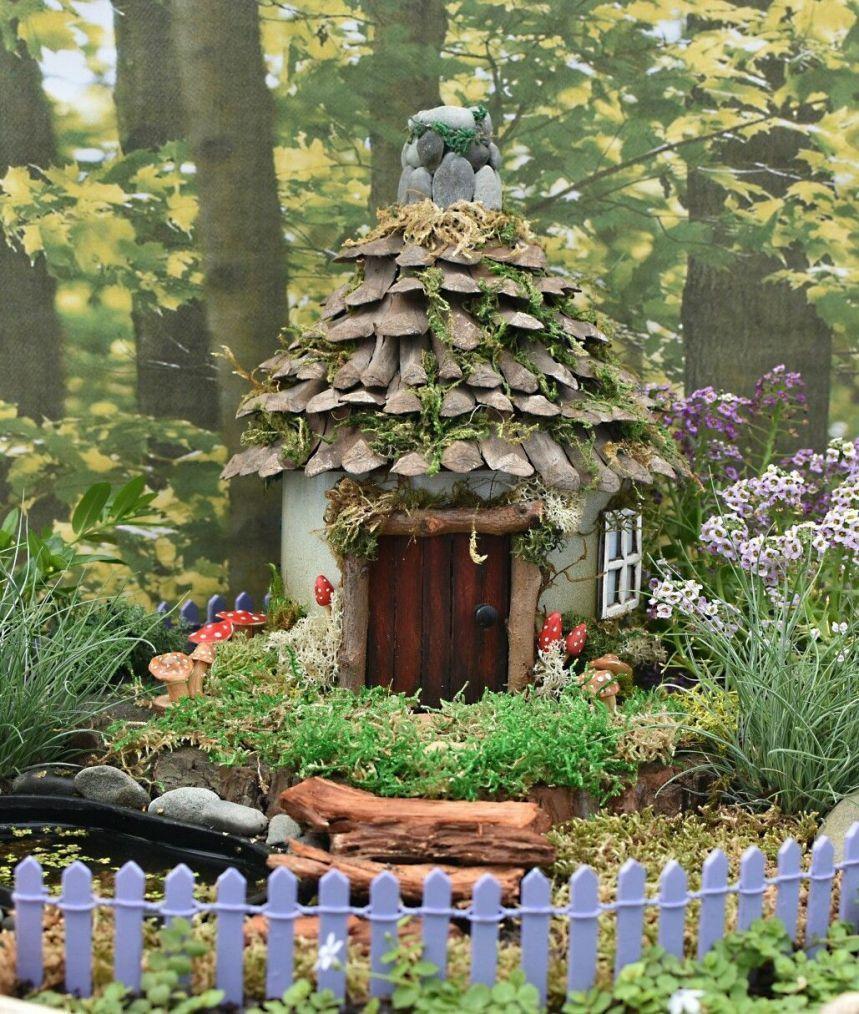 специальных декоративные домики для сада фото лучше