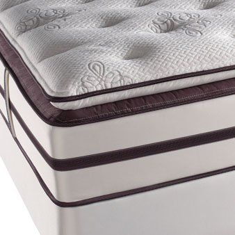 Full Simmons Beautyrest Elite Palisades Park Plush Firm Pillow Top