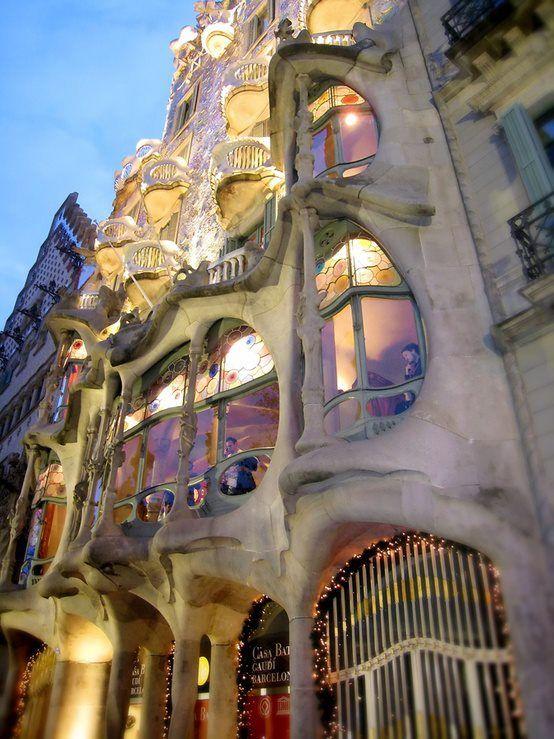 Gaudi, Barcelona, España