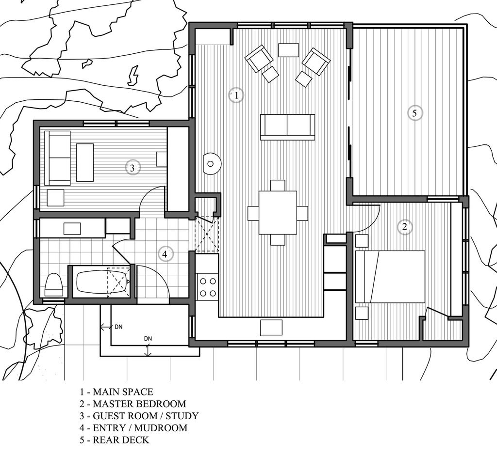 Houseplans with 2 master bedrooms  Plan   Houseplans  Tiny house  Pinterest  Smallest