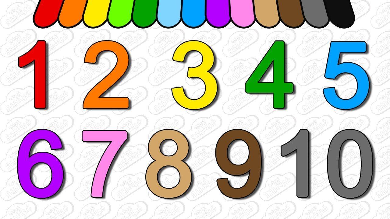 تعليم الارقام للاطفال تعليم الاطفال الارقام من 1 10 باللغه الانجليزيه بالصوت والصوره من فرافيرو Kids Web Youtube School