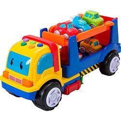 Caminhão com Carrinhos First Steps