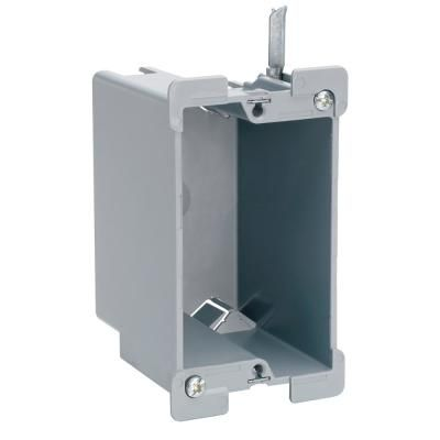 Pass Seymour Legrand Slater Old Work Plastic 1 Gang Swing Bracket Quick Click Switch And Outlet Box Metal Electrical Box Conduit Box Wall Boxes