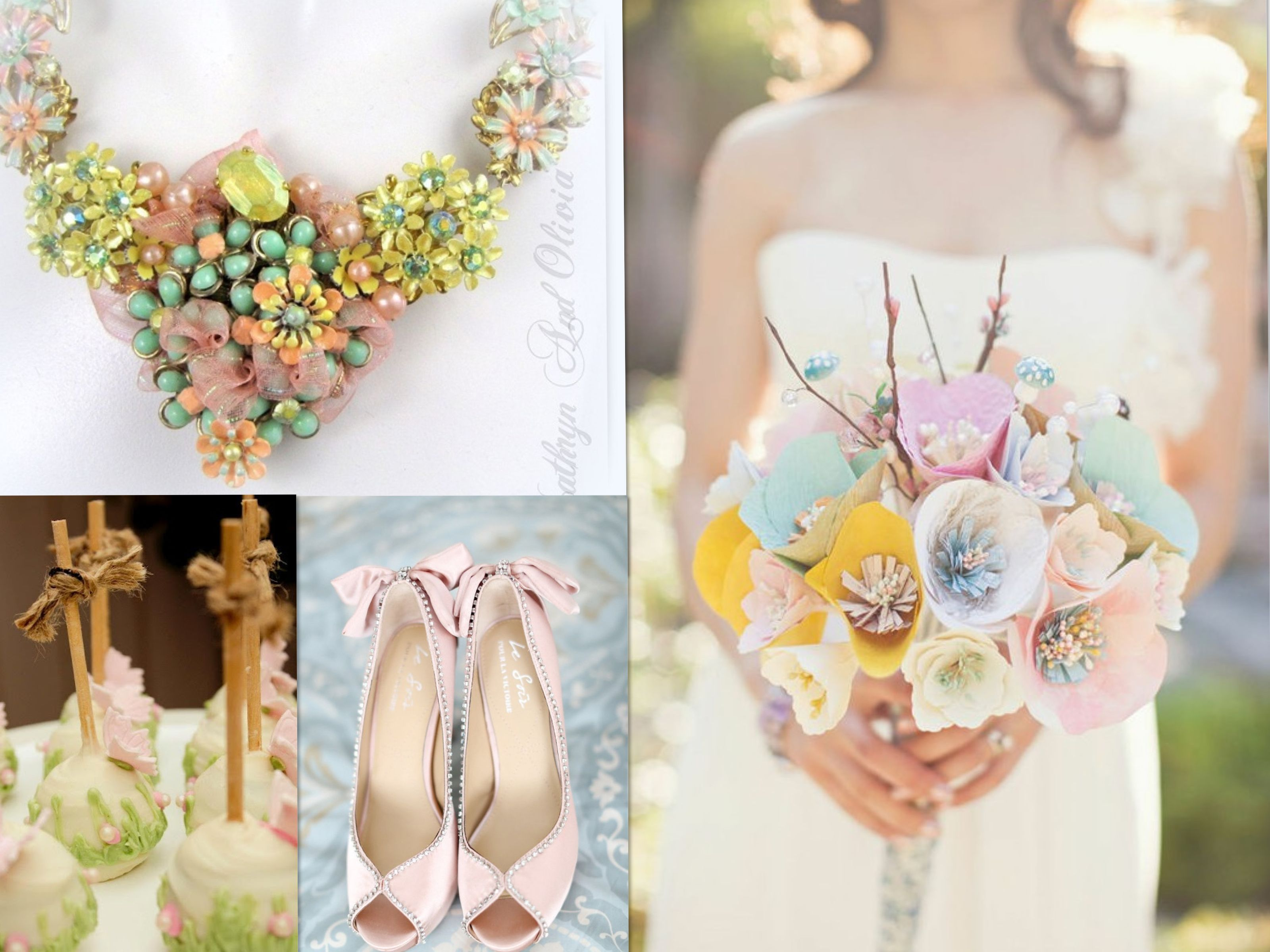 Summer Wedding Ideas...Color theme by aubresbridal.com | Bridal ...
