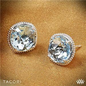 accc8366e82a68 Tacori SE15602 Island Rains Sky Blue Topaz Stud Earrings in Sterling ...