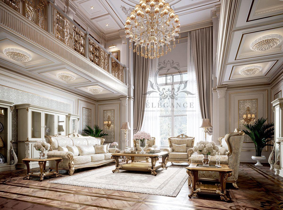 Elegant Interior Design Classic House Interior Design Classic House Design Classic House Interior Classic luxury room pictures